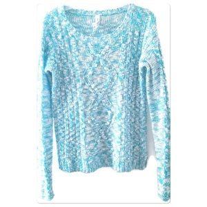 Aeropostale Sweater Size Medium Cable Knit